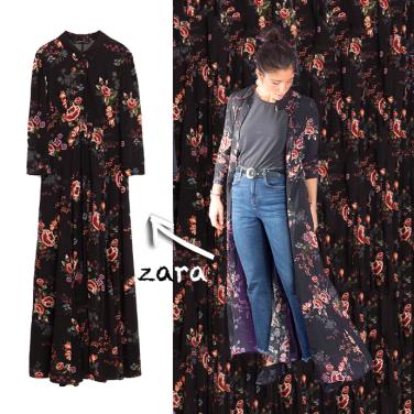 dressoverpants-zara2-lajoiedevivre